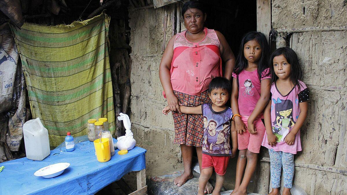 Flut in Peru: Rund 300.000 Kinder von den Folgen betroffen