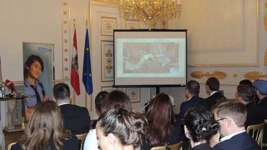 Film von Plan International wird gezeigt
