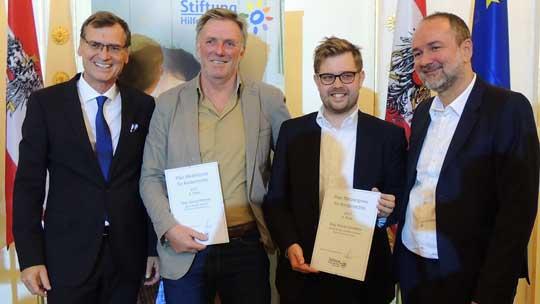 3.Platz Preisträger 2017 Herr Wimmer und Herr Smetana