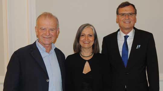 Rudi Klausnitzer, Irene Kaufmann und Thomas Kralinger