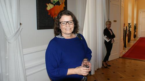 Frau Gumpoldsberger - Unterstützerin von Plan International und der Stiftung (c) Plan International