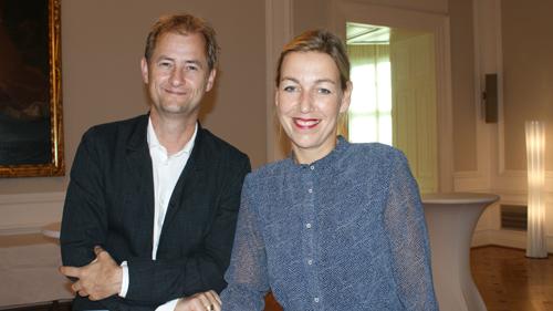 Hr. Großekathöfe und Fr. Hardinghaus vom Der Spiegel (c) Plan International