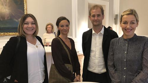 Preisträger Fr. Prascaics, Fr. Widler, Hr. Großekathöfer, Fr. Hardinghaus (c) Plan International