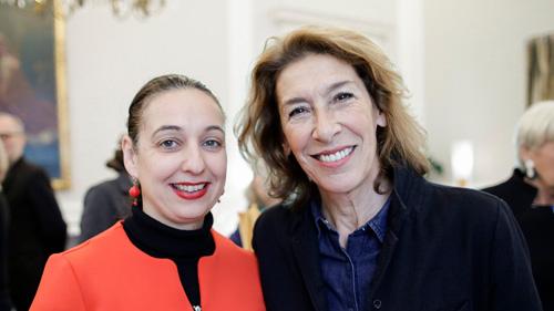 Bundesministerin Ines Stilling und Adele Neuhauser (c) BKA/Andy Wenzel