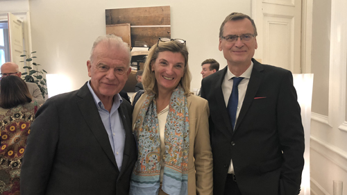 Rudi Klausnitzer, Dorothee Ritz und Thomas Kralinger (c) Plan International