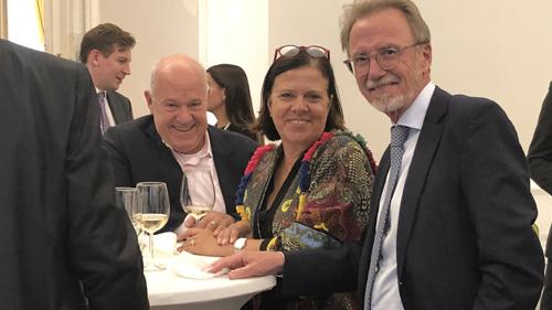Michael Mendel, Susanne Bixner und Gerhard Feuchtmüller (c) Plan International