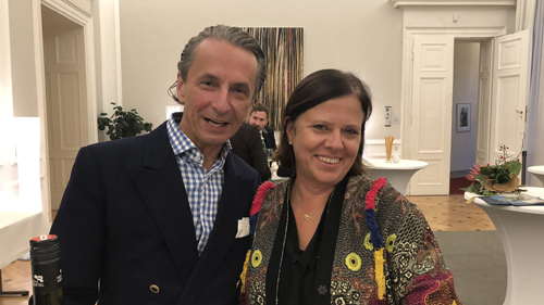 Christian Rainer und Susanne Bixner (c) Plan International