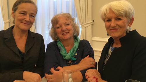 Gäste und BM a.D. Maria Rauch-Kallat (c) Plan International