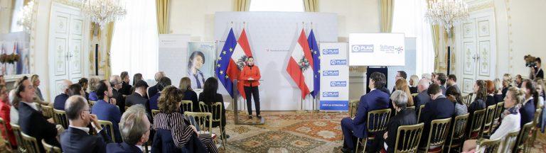 Preisverleihung Plan Medienpreis für Kinderrechte 2019 (c) BKA / Andy Wenzel